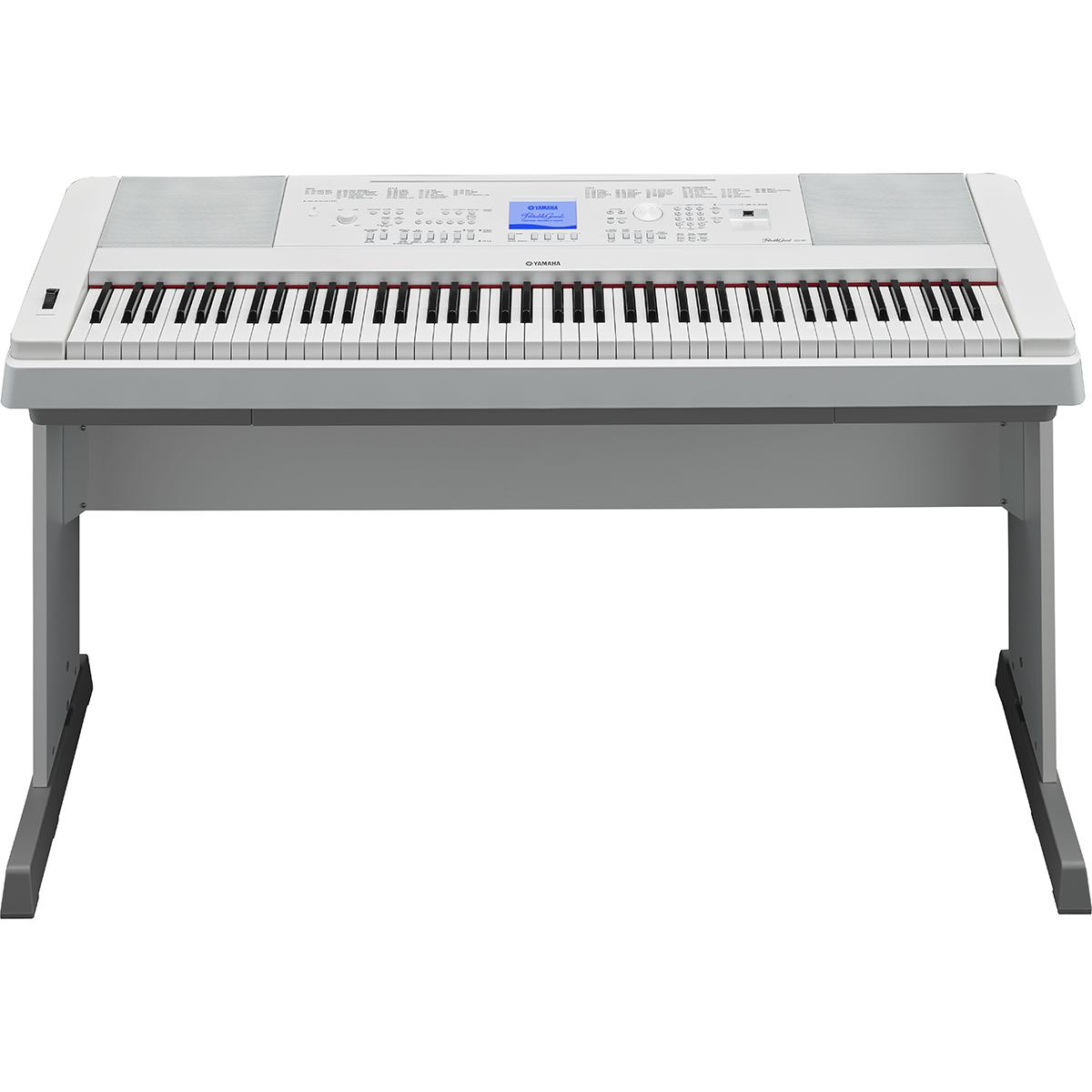 Image of   Yamaha DGX-660WH el-klaver hvid