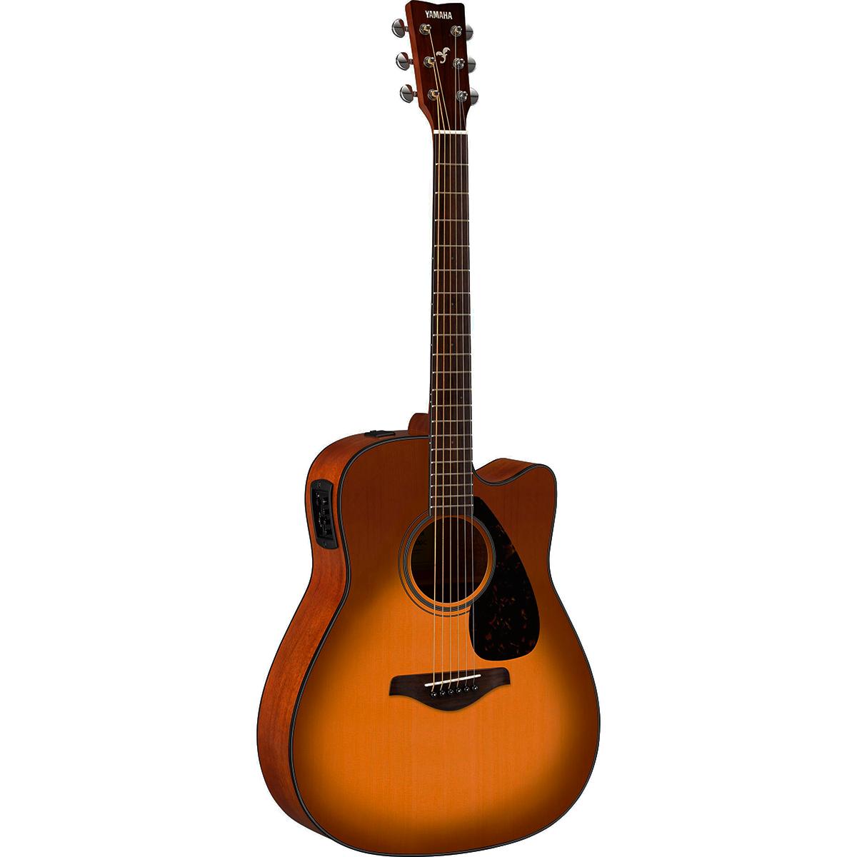Yamaha FGX800CSDB western-guitar sandburst