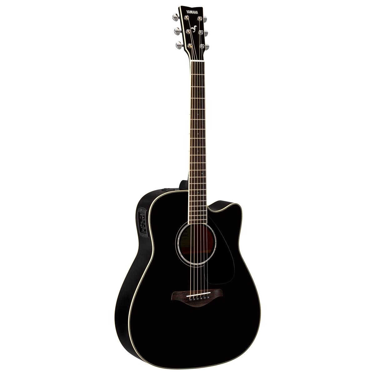 Billede af Yamaha FGX830CBL western-guitar sort