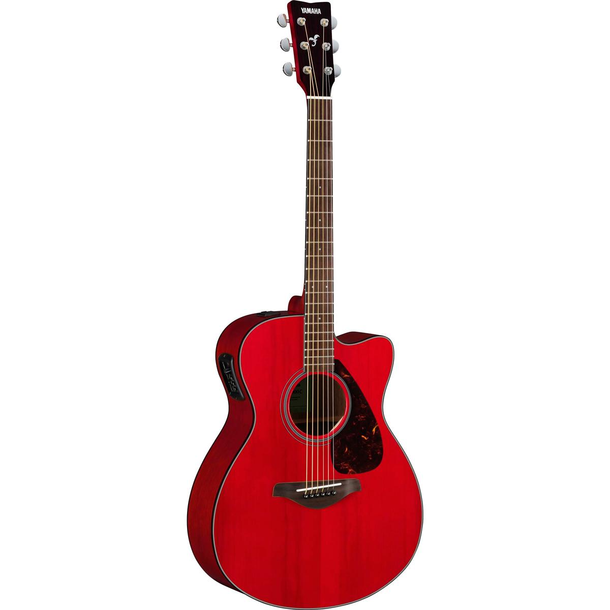 Yamaha FSX800CRR western-guitar rubyred
