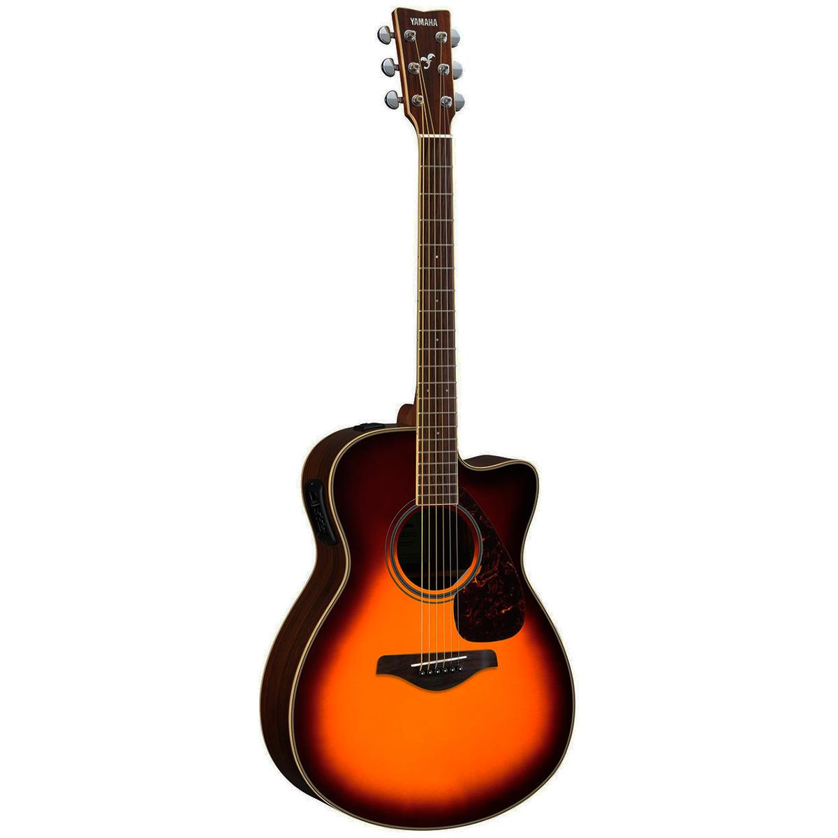 Yamaha FGX830CBS western-guitar brownsunburst