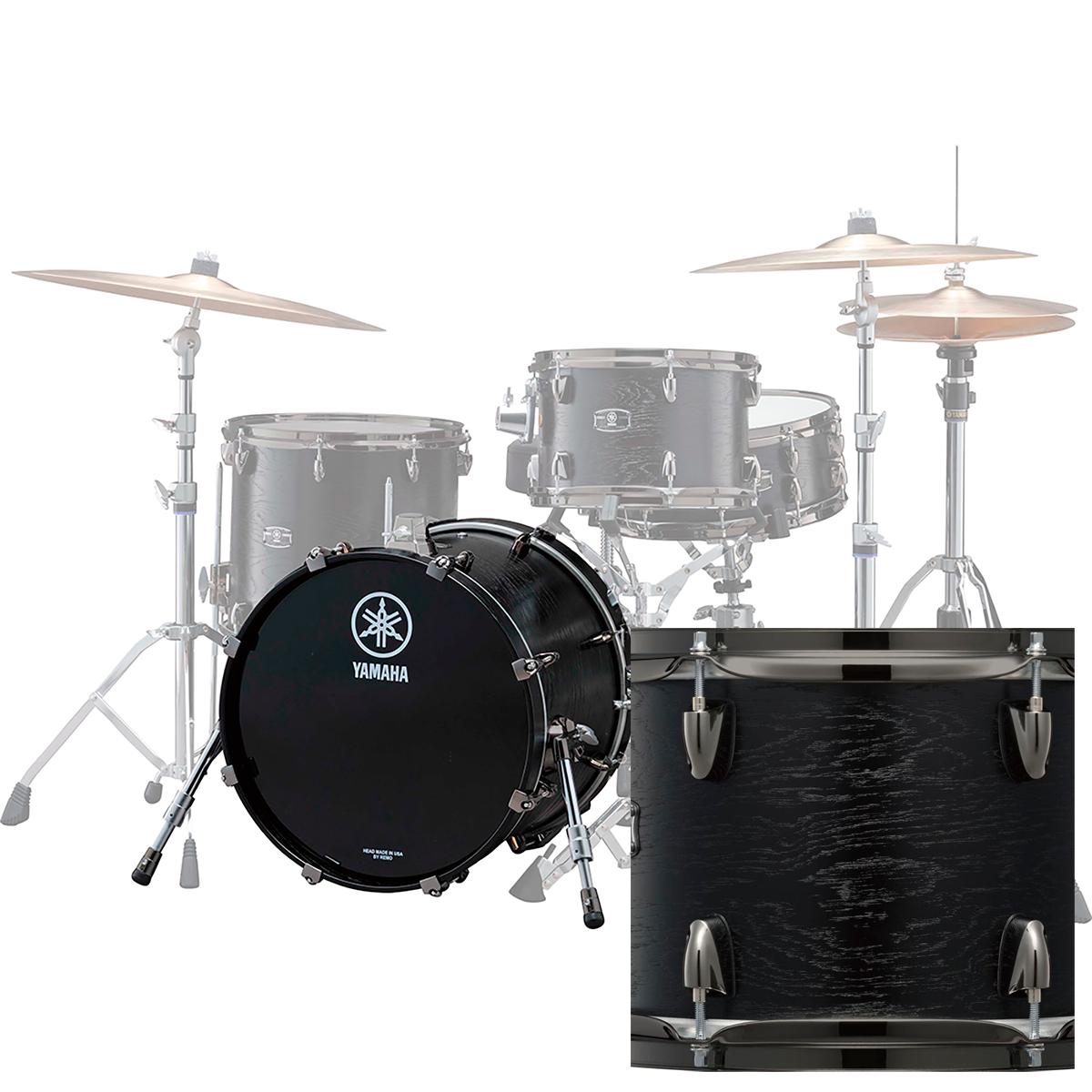 Yamaha LNB2418RBKWLiveCustom stortromme24x18 blackwood