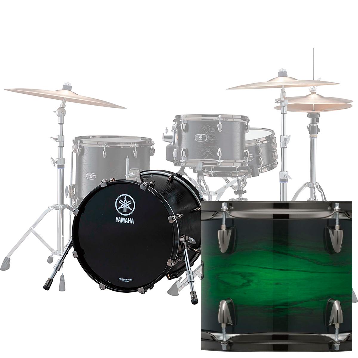 Yamaha LNB2418REWSLiveCustom stortromme24x18 emeraldshadowsunburst