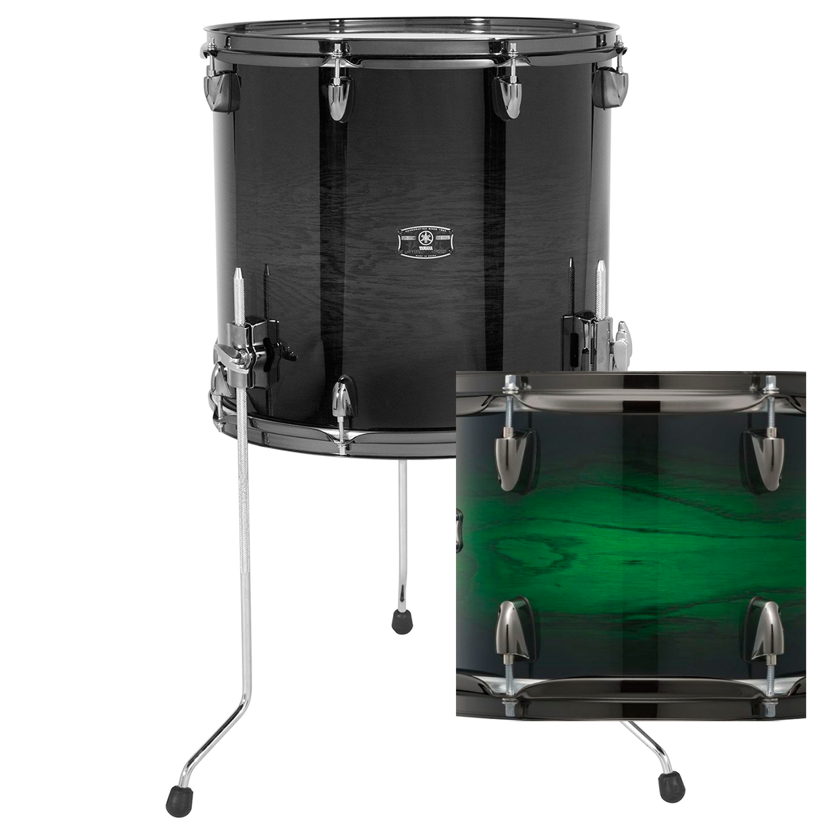 Yamaha LNF1816EWSLiveCustom gulvtam18x16 emeraldshadowsunburst