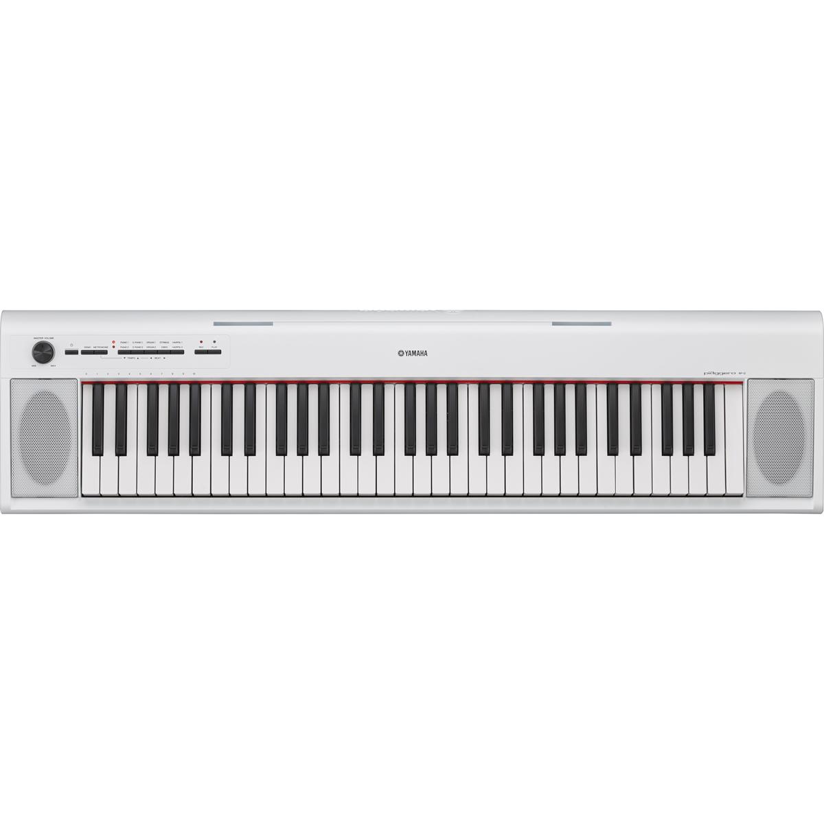 Billede af Yamaha NP-12WHPiaggero el-klaver hvid