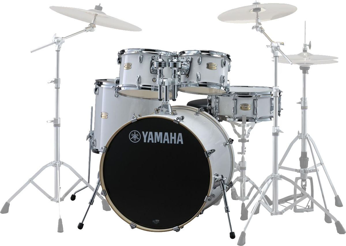 Yamaha SBP0F5PWHStageCustomBirch trommesæt purewhite