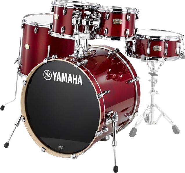 Yamaha SBP2F5CRStageCustomBirch trommesæt cranberryred