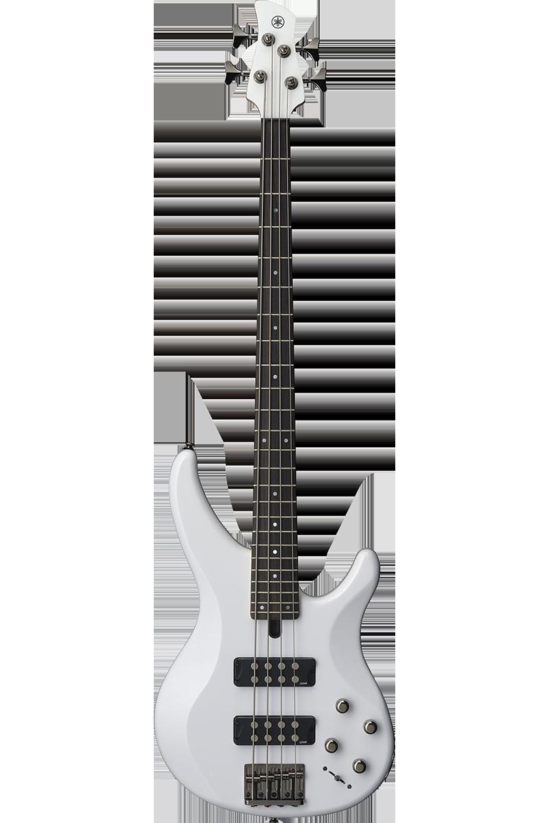 Yamaha TRBX304-WH el-bas hvid