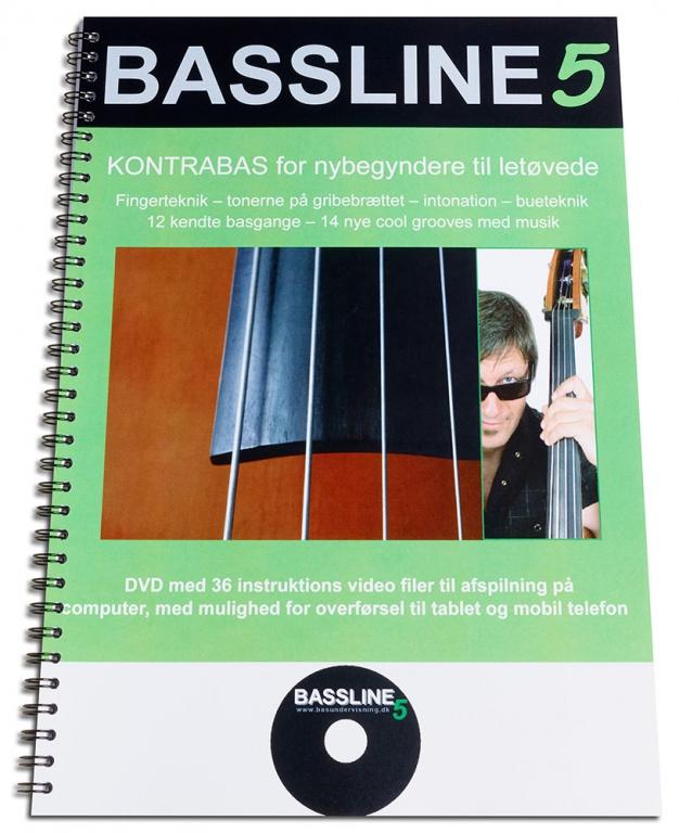 Billede af BASSline5 undervisnings-DVD/bog