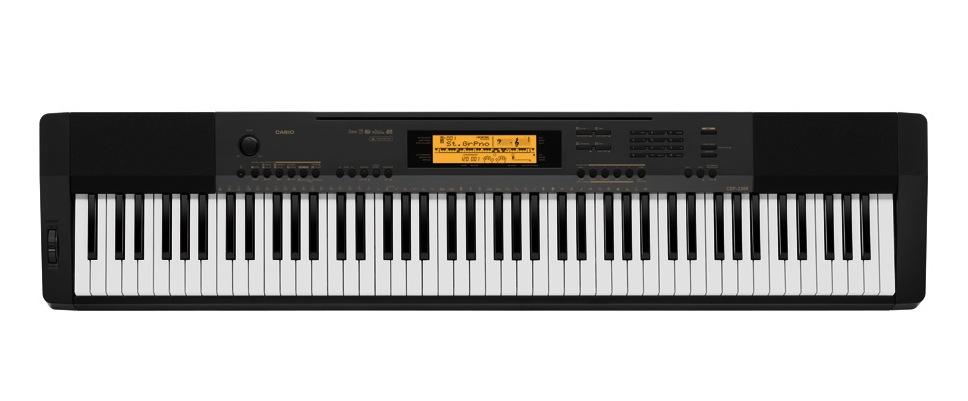 Image of   Casio CDP-230R el-klaver sort
