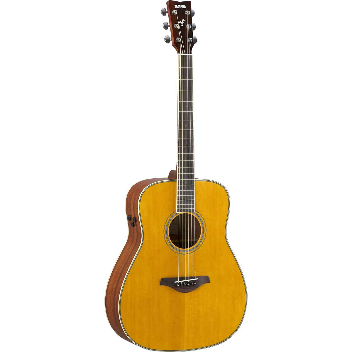 Yamaha ll6 are halvakustisk western guitar naturfarvet for Yamaha a5r are