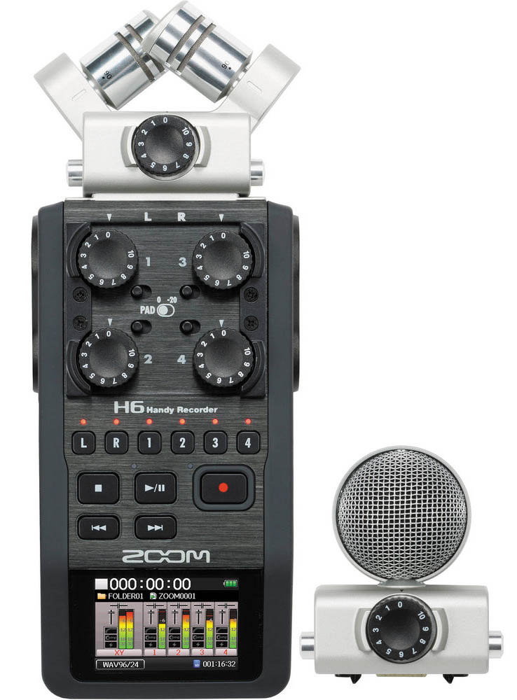 Image of   Zoom H6 handyaudiorecorder