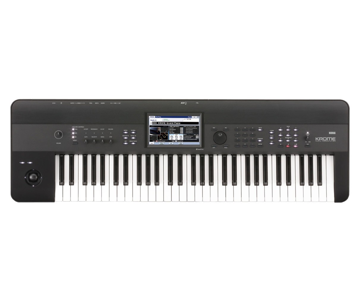 Korg Krome-61 keyboard sort