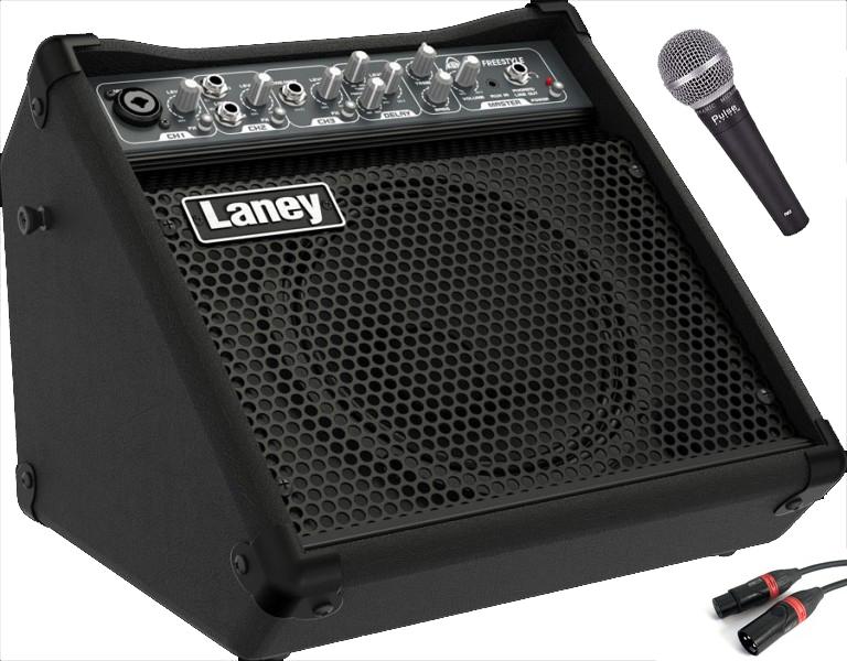 Billede af Laney AH-FREESTYLE multi-forstærkermedmikrofon sort