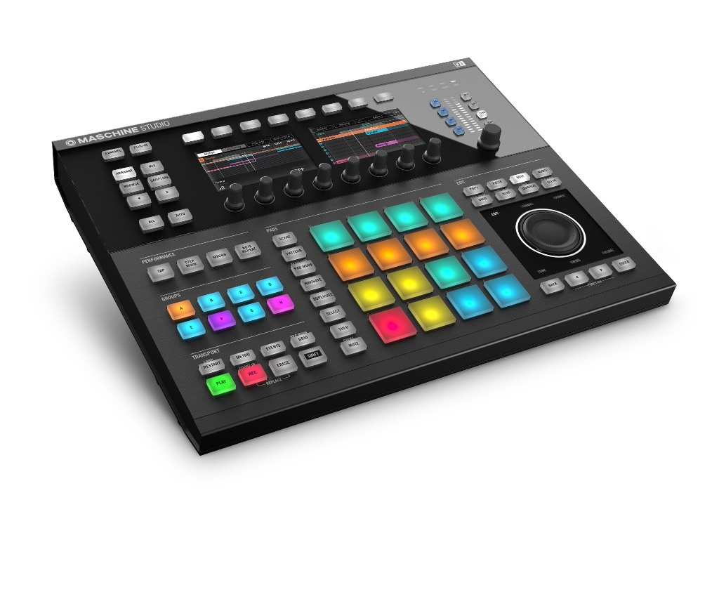 NativeInstruments MaschineStudio  sort