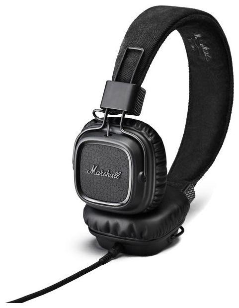 Marshall MajorMKIIPitchBlack hovedtelefoner pitchblack