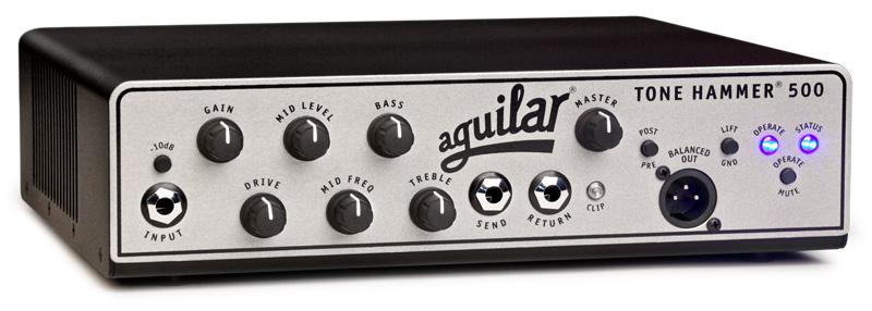 Aguilar ToneHammer500 basforstærker-top