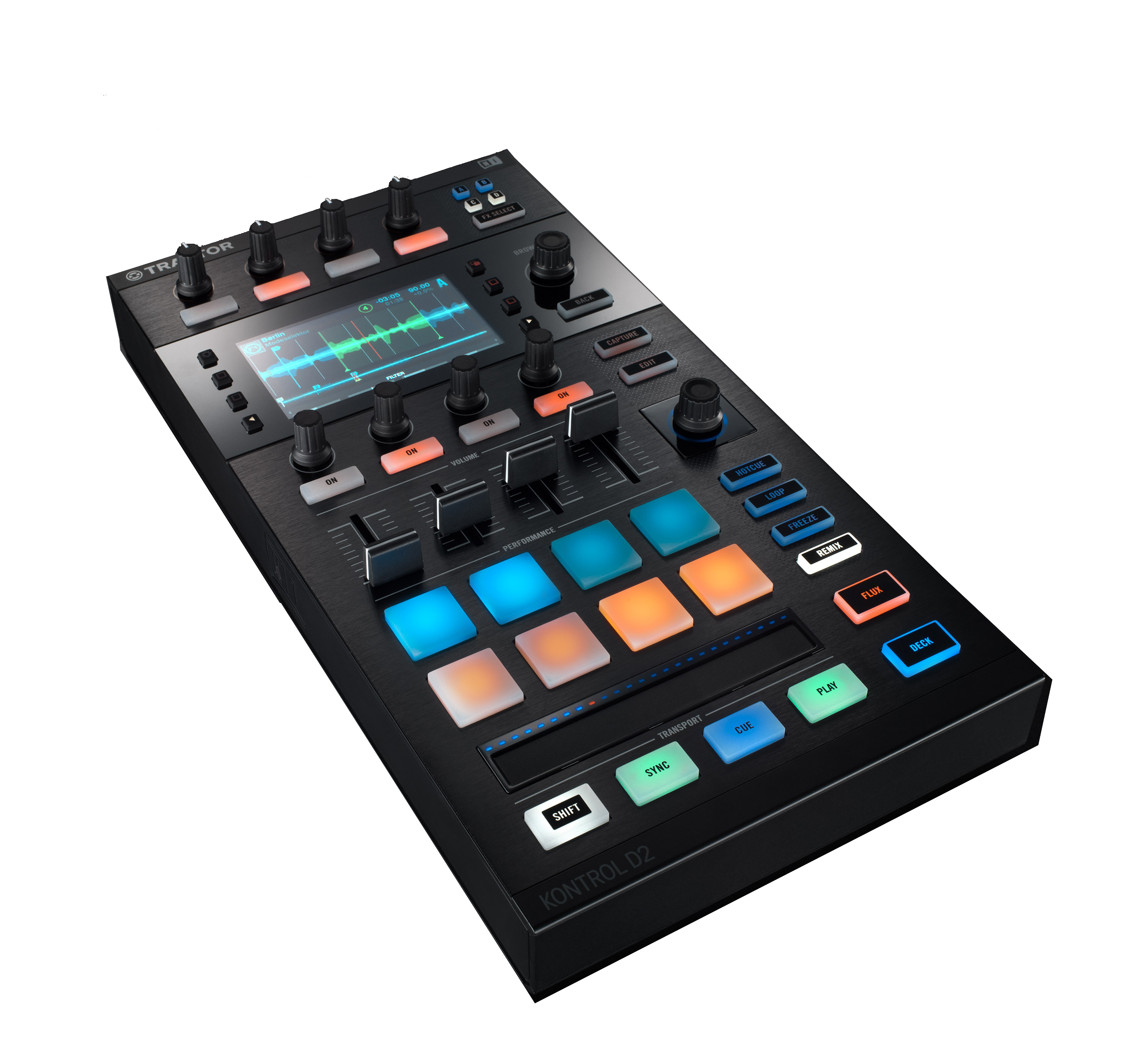 NativeInstruments TraktorKontrolD2