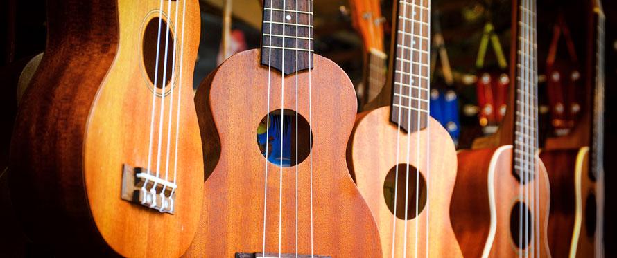 Få ukulelen i stemning