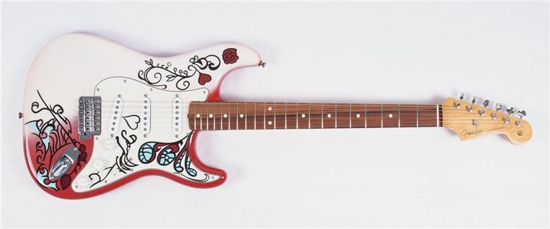 Jimis brændte guitar