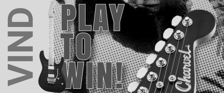 Play to win - Vind en Charvel guitar hos DanGuitar