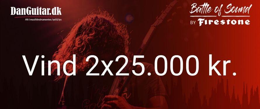 Mangler du ikke for 25.000 kr. musikudstyr?