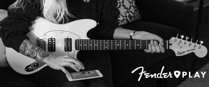 Fender Play lærer dig at spille!