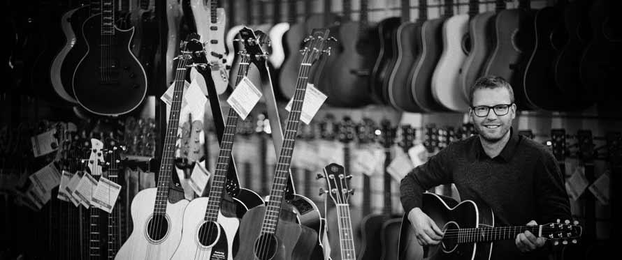 Valg af guitar. Hvilken guitar er rigtig for dig?
